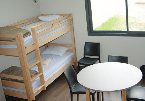 Hébergement capacité 63 personnes 77