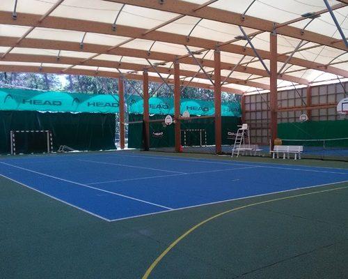 Terrain de tennis couvert Buthiers 77