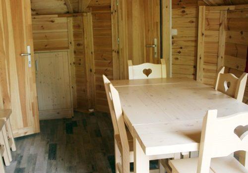 Intérieur Hébergement cottage ile de loisirs de Buthiers