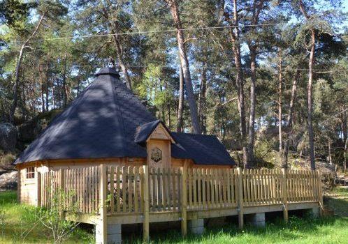 Hébergement Pod / Cottage ile de loisirs de Buthiers 77