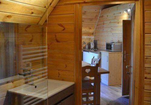 Salle de bain hébergement Pod / Cottage