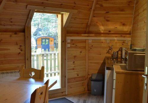 Hébergement Pod / Cottage 2/4 personnes 77
