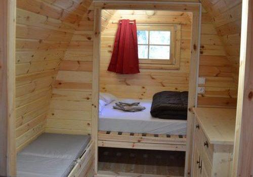 Chambre Hébergement Pod / Cottage ile de loisirs de Buthiers