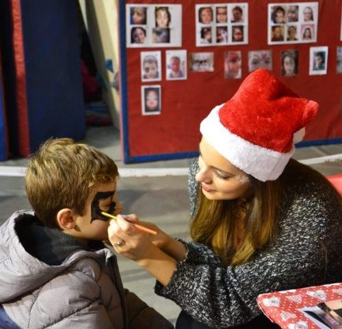 Atelier Maquillage village de Noël ile de France