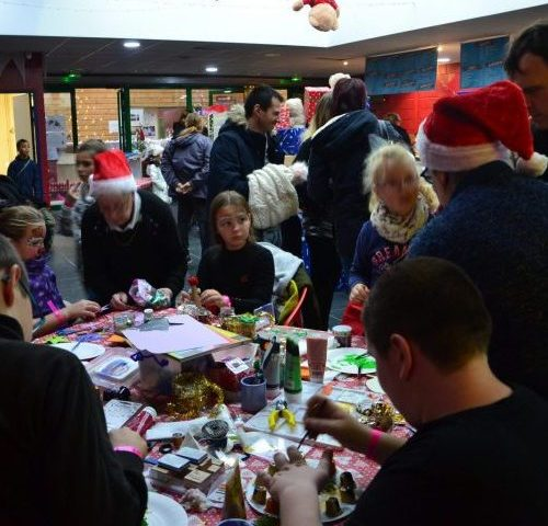 Noël en ile de France atelier décoratif