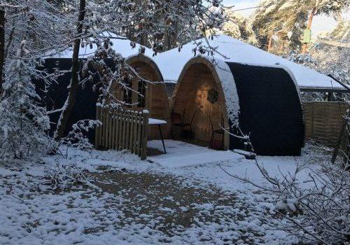 Hébergement Pod / Cottage ile de loisirs de Buthiers