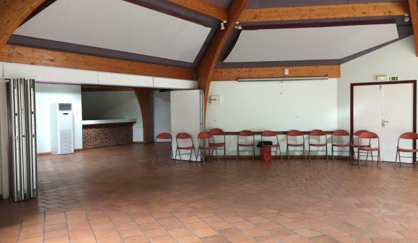 Salle polyvalente 3 en 1 jusqu'à 70 couchages
