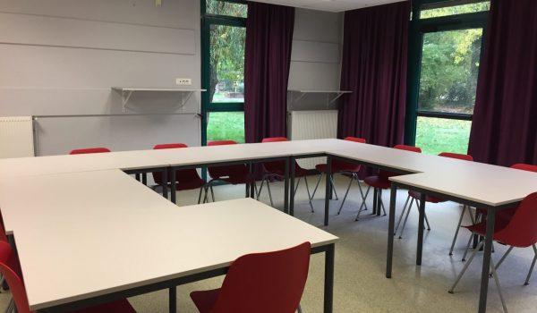 Salle pédagogique Buthiers modulable de 10 à 80 personnes